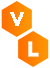 Virtual Labs logo - letters V and L in two hexagon shapes